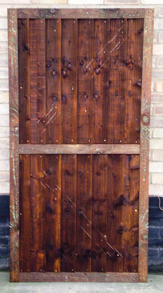 Closeboard / Feather Edge Gate